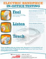 Electric Handpiece Testing Flyer